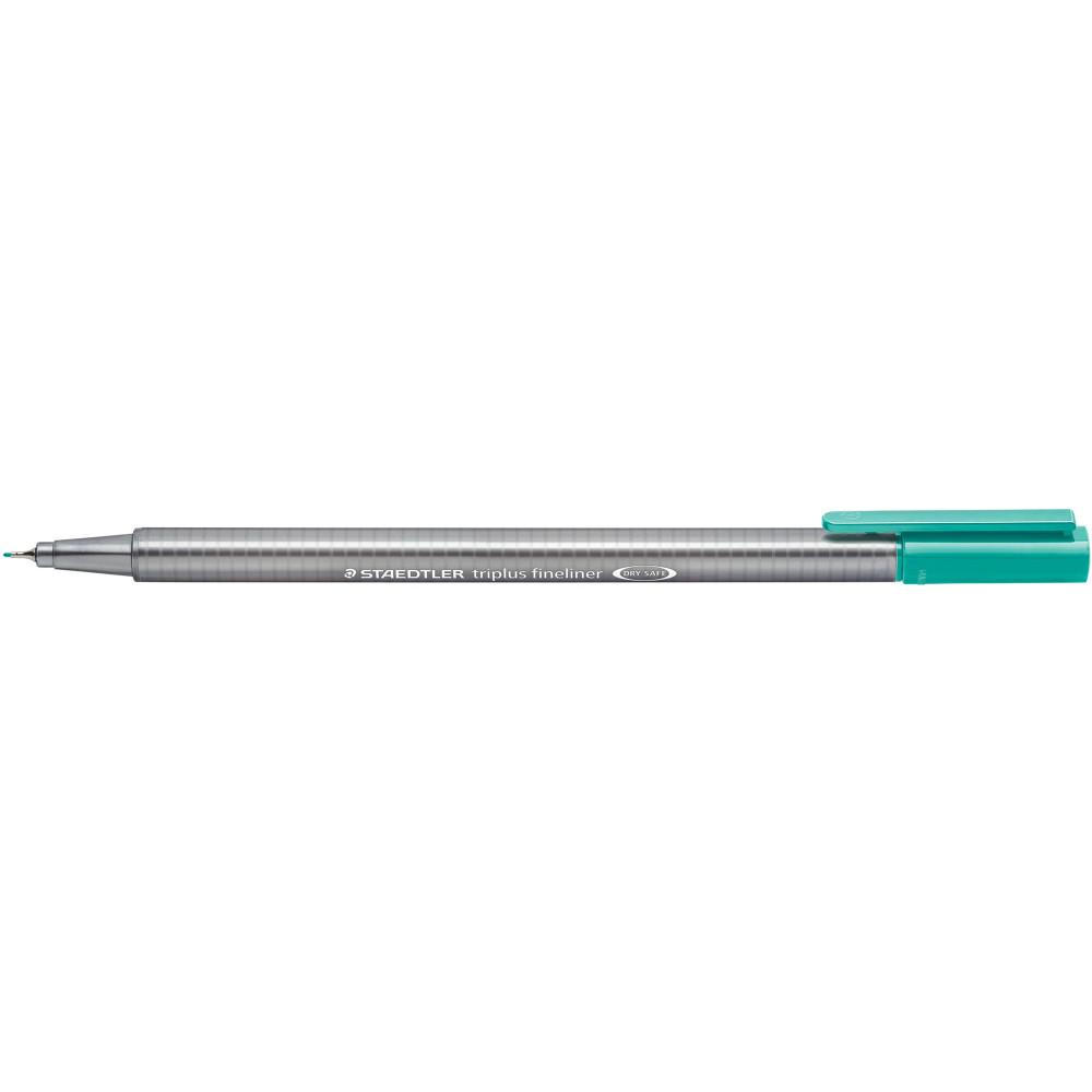 STAEDTLER FINELINER 334 Triplus 0.3mm Turquoise Pack of 10