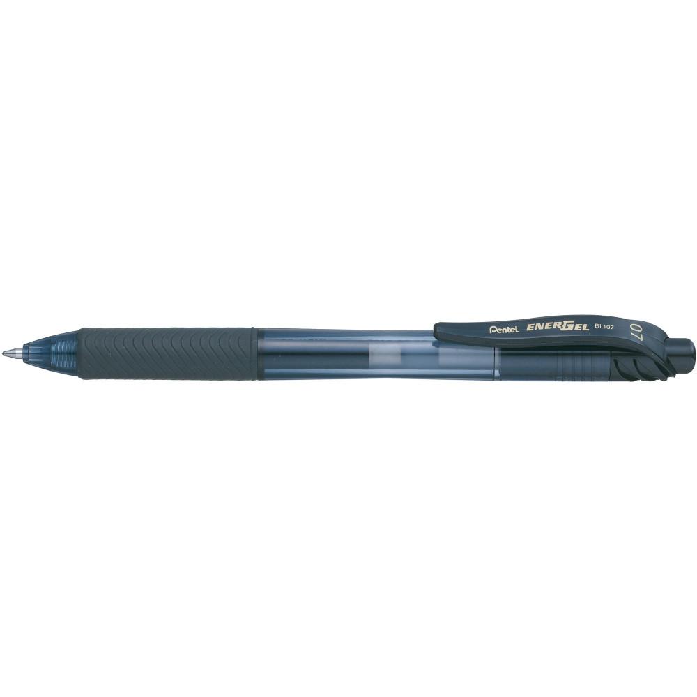 PENTEL BL107 ENERGEL X Fine Retractable Gel Pen Black