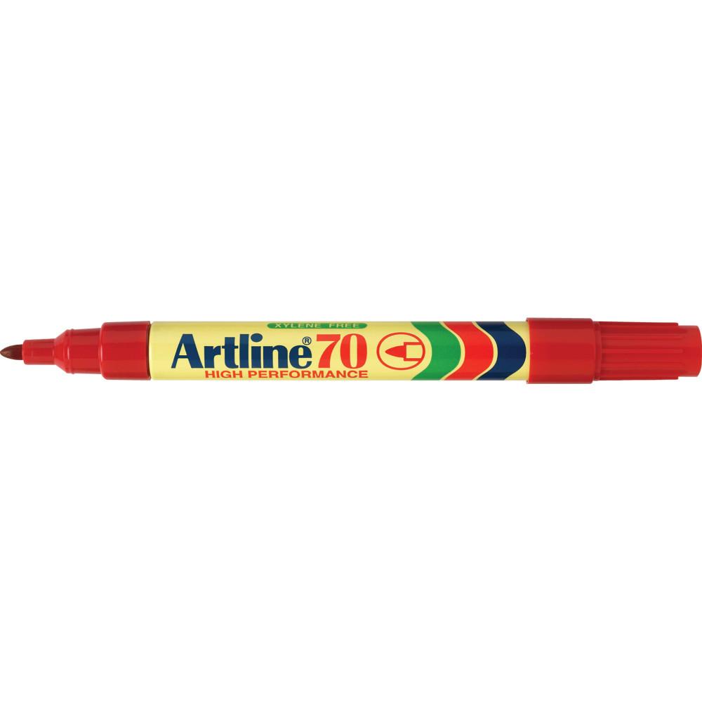 ARTLINE 70 PERMANENT MARKER Bullet Red