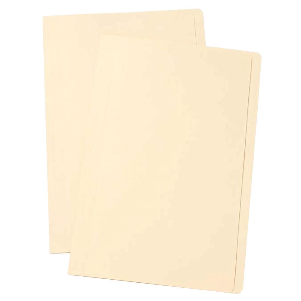Marbig Manilla Folders A4 Buff Box Of 100