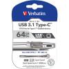 Verbatim On the Go Typce-C to USB Drive 32GB