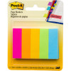 POST-IT PAGE MARKERS 670-5AN 12.7mm x 44.4mm Assorted Pack of 500