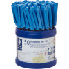 STAEDTLER STICK 430 BALL PEN Medium Blue Cup of 50