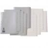Marbig Plastic Divider A4 Indices 1-54 Grey