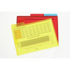MARBIG LETTER FILE A4 With Secure Flap Assorted Pack of 3