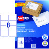 AVERY L7165 MAILING LABELS Laser 8 UP 99.1x67.7mm Box of 100