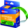 AVERY DMR1964R4 DISPENSR LABEL Printed Friendly Reminder Green Pack of 125