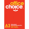 Office Choice Laminating Pouches A3 80 micron Box of 100