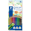 STAEDTLER NORIS CLUB Triangular Colour Pencils Assorted Pack of 12