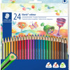 STAEDTLER NORIS CLUB Pencil Triangular Assorted Pack of 24