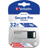 VERBATIM STORE 'N' GO USB Encrypted 32GB Silver