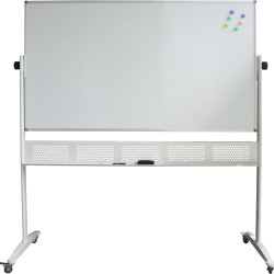 RAPIDLINE MOBILE WHITEBOARD 1500mm W x 1200mm H x 15mm T White