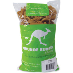 Bounce Rubber Bands SIZE 63 Bag 500gm