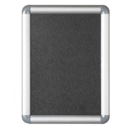 VISIONCHART OPW NOTICECASE SNAP FRAME A3 Silver