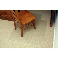 MARBIG ECONOMY CHAIRMAT Small 910mm x 1210mm Clear