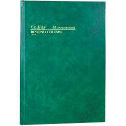 COLLINS ANALYSIS 61 SERIES A4 10 Money Column Green
