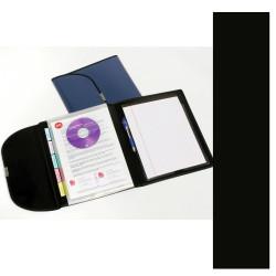 Marbig A4 5 Pocket Organiser Black Black