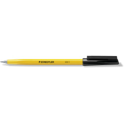 Staedtler 430 Stick Ballpoint Pens Fine 0.7mm Black