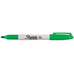 SHARPIE FINE POINT MARKER Permanent 1.0mm Fine Green