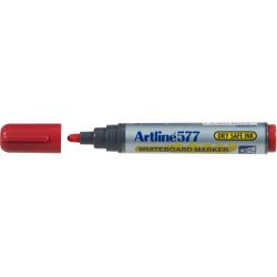 ARTLINE 577 WHITEBOARD MARKER Bullet Red