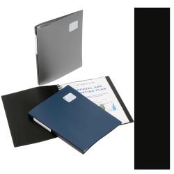 Marbig Professional Series Display Book A4 Refillable 20 Pocket Black