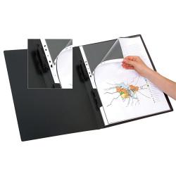 Marbig Display Book A3 Refillable 20 Pocket Black