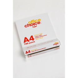Office Choice Sheet Protectors A4 Heavy Duty Copysafe Box of 100