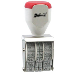Deskmate Rubber Date Stamp 12 Year Band, 4mm Text