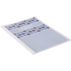 IBICO THERMAL BINDING COVERS A4 25-30Shts 3mm Spine Clear Pack of 100