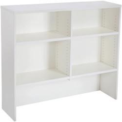 Rapid Span Melamine Desk Hutch 1070Hx1200Wx315mmD All White