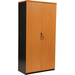 LOGAN CUPBOARD 1800MM X 900MM Full Door Beech & Ironstone