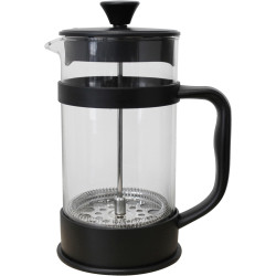 CONNOISSEUR COFFEE PLUNGER 8 Cup Capacity Black