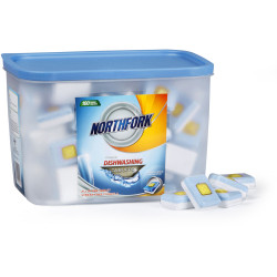 NORTHFORK DISHWASHING TABLETS Premium All in one Pack of 100