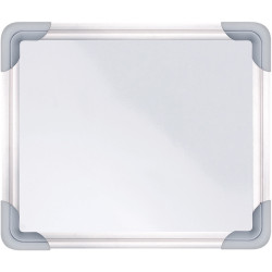 ZART MAGNETIC WHITEBOARD 25cm x 21cm Double Sided White