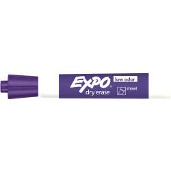 EXPO WHITEBOARD MARKER Chisel Tip Purple