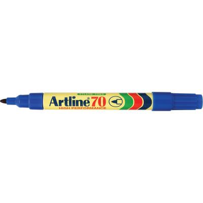 Artline 70 Permanent Marker Bullet 1.5mm Blue