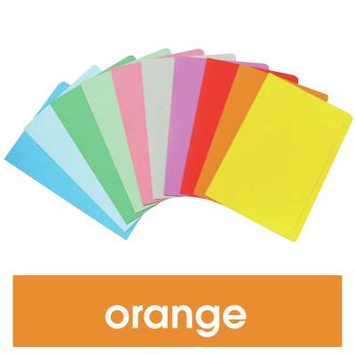 Marbig Manilla Folders Foolscap Orange Pack Of 20